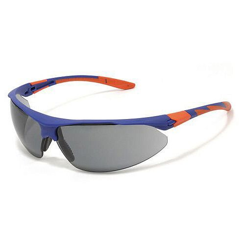 Stealth 9000 Safety Glasses Eye UV Protection Lens Colour Smoke