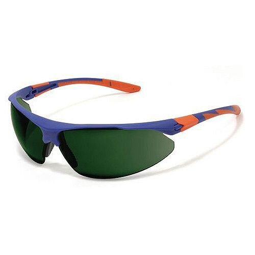 Stealth 9000 Safety Glasses Eye UV Protection Lens Colour Green