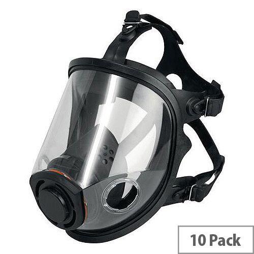 JSP Force 10 Twin Cartridge Full Face Respirator
