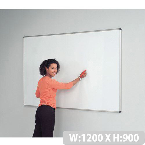 Sheild Deluxe Whiteboard 900x1200 Magnetic