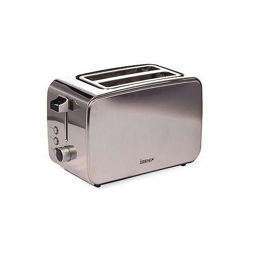 Stainless Steel Toaster 2 Slots