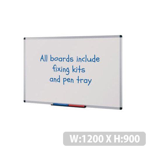 Budget Whiteboard HxW 1200x900mm