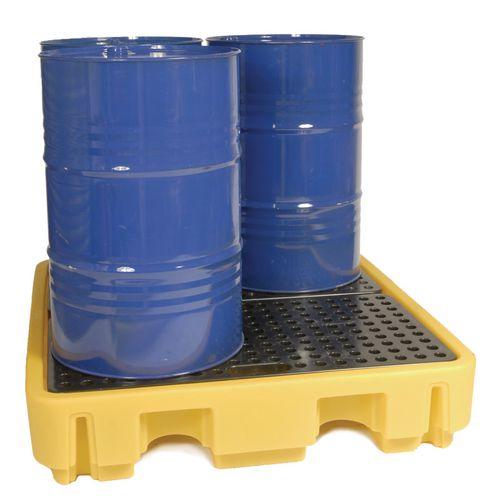 Spill Pallet Capacity 250L HxWxD 280x1290x1290mm