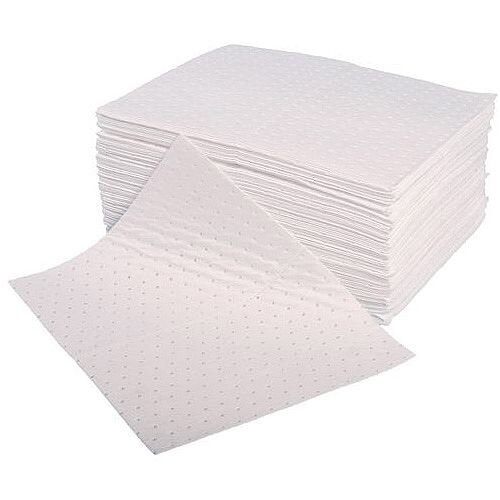 Sorbent Pad Oil &Fuel Capacity 85L WxL mm: 500x400 Pack 100