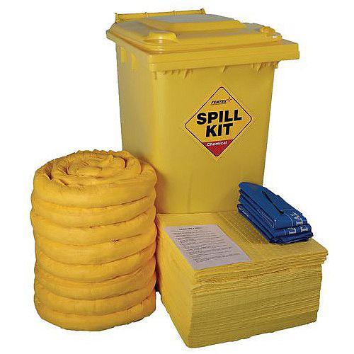 240L Wheelie Bin Chemical