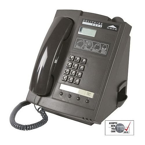 Solitaire Payphone with Cash records, 3 Memory Buttons and Large LCD Display