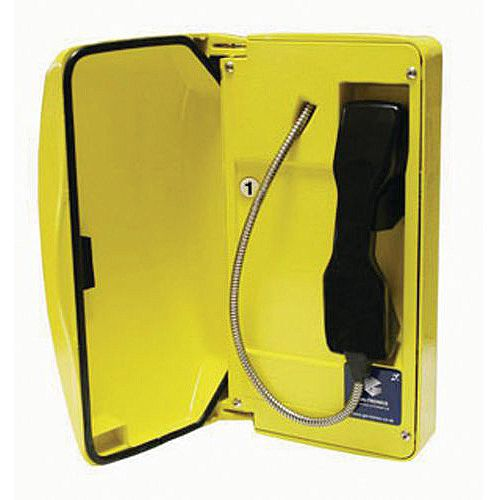 Environmental Telephone With Door 1 Button