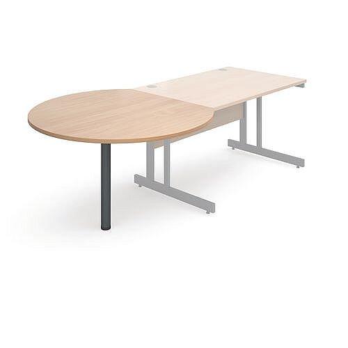 Express Desk End Meeting Table Beech