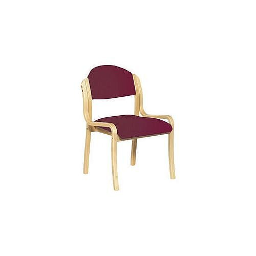 Beech Frame Stacking Chair Wine