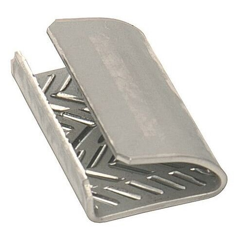 Serrated Steel Strapping Seals W16 x L32mm Pack of 1000