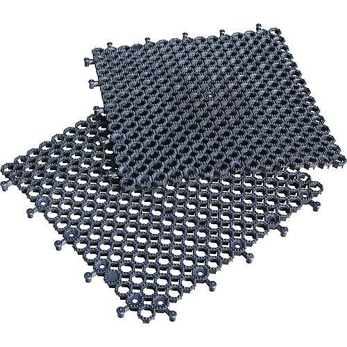 Heavy Duty Open Grid Floor Tiles Pack Of 16