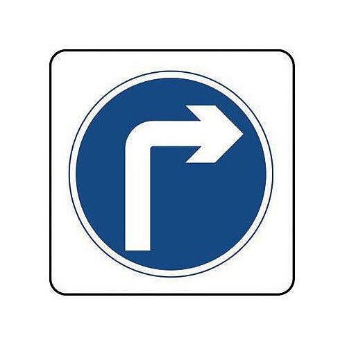 Reflective General Traffic Sign Right Turn