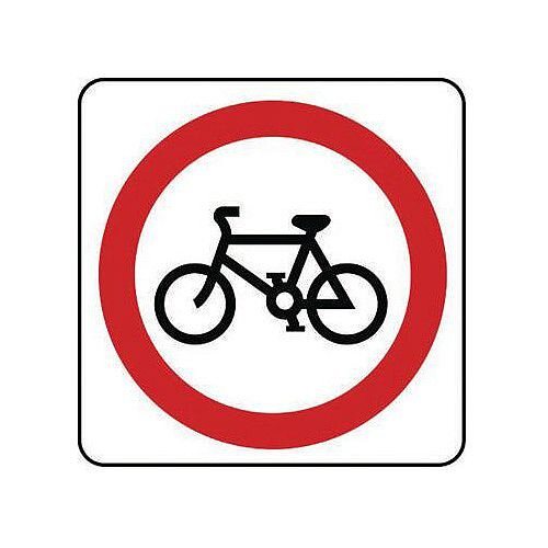 Reflective General Traffic Sign No Cyclists