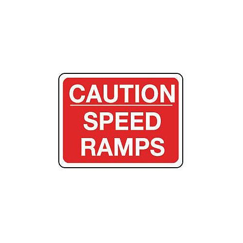 Reflective General Traffic Sign Caution Speed Ramps