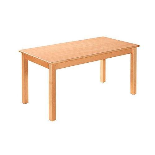 Rectangular Pre School Table Beech Natural 120x60x40cm High TC04000