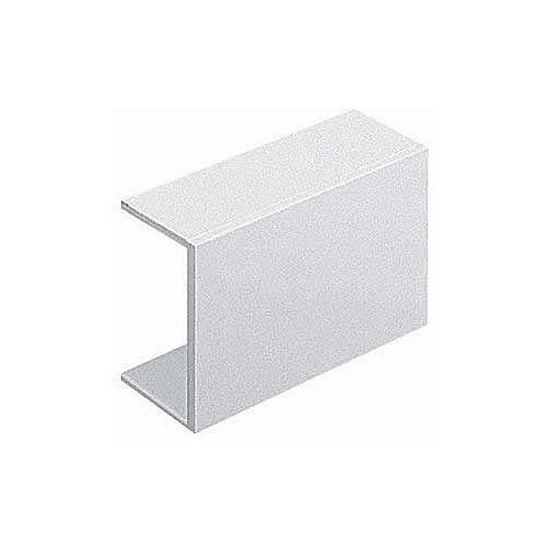 38mm x 25mm Adhesive Coupler Cable Tidy - White