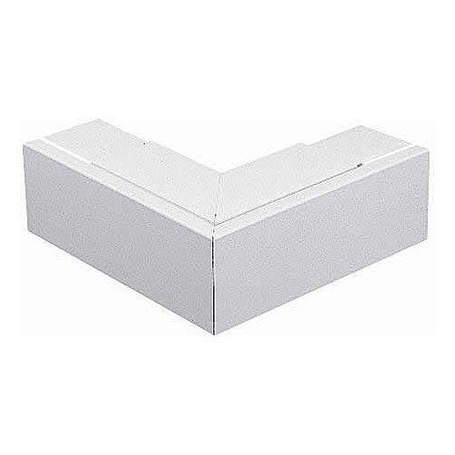 100 x 100mm Flat Angle - White