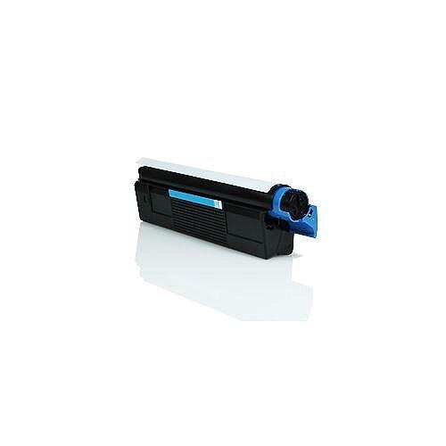 Compatible OKI 42127407 Cyan Laser Toner 5000 Page Yield