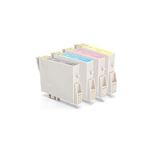 Compatible Epson T0445 Inkjet Cartridge Multi-Pack C13T04454010 4-Colour >400 each Page Yield