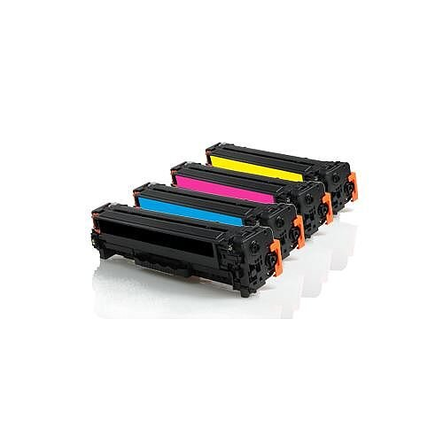 Compatible HP 304A Laser Toner Multi-Pack CC530 4-Colour >3500 each Page Yield