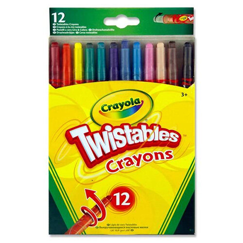 Crayola Twistables Crayons Pack of 12 x 6