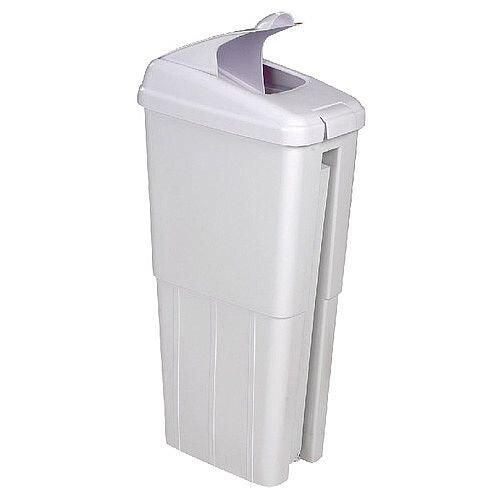 Kleenfem Sanitary Pedal Bin 19 Litre White 356972