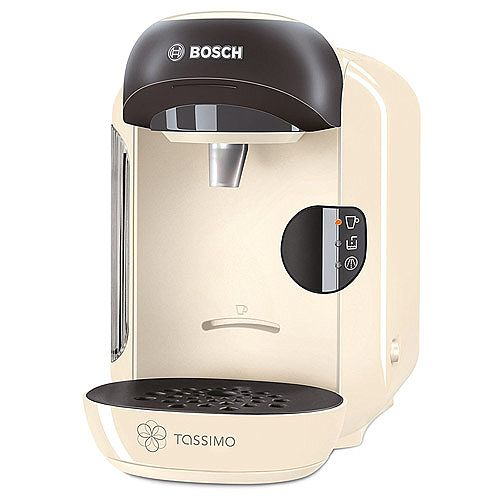 Bosch Tassimo Vivy Hot Drinks and Coffee Machine Cream