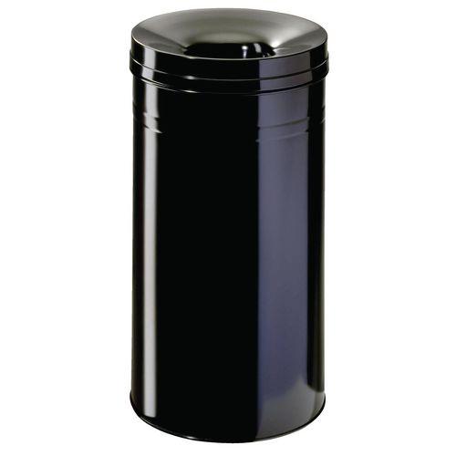Waste Bin 62.1 Litre With Lid Black 309600