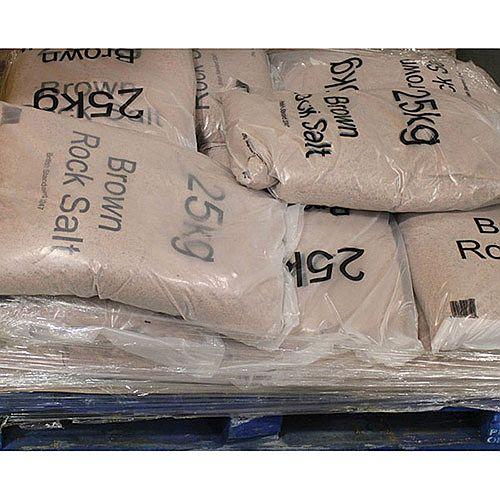 Winter Dry Brown Rock Salt 25Kg Pack of 10 383579