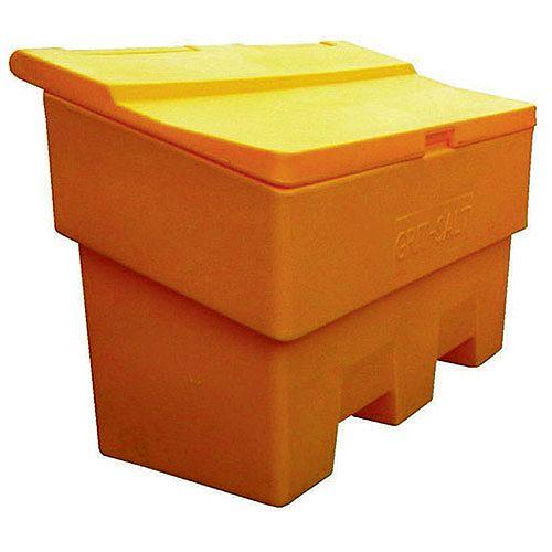 Winter Grit Heavy Duty Durable Plastic Bin 170 Litre Yellow 380176