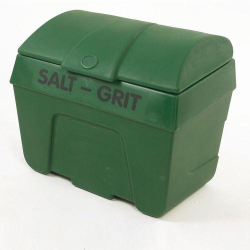 Green Winter De-Icing Salt and Grit Bin 200 Litre No Hopper 317058