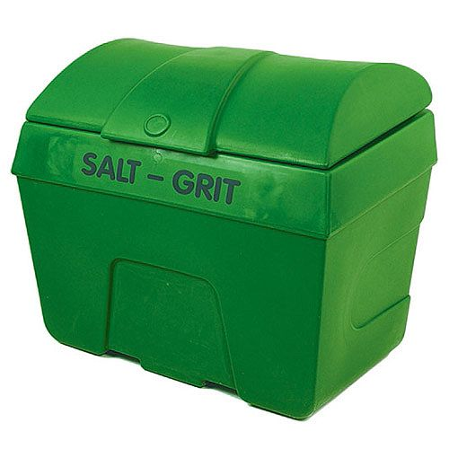Winter De-Icing Salt/Grit Bin No Hopper 400 Litre Green 317069