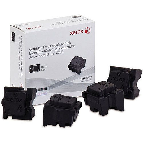 Xerox Colorqube 8700 Ink Stick Black Pack of 4 108R00999