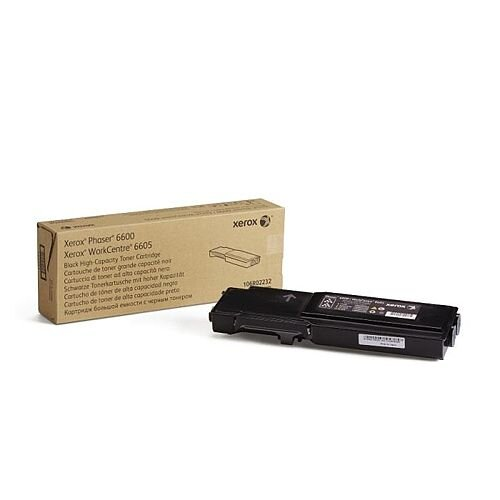 Xerox Phaser 6600/WorkCentre 6605 Toner Cartridge High Yield Black 106R02232