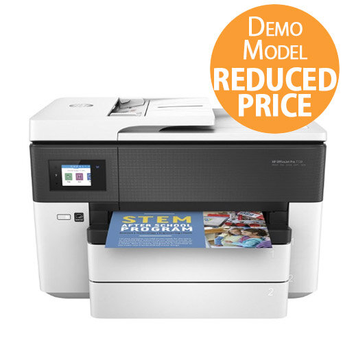 HP Officejet Pro 7730 Wide Format Colour Inkjet Printer, Scanner, Copier & Fax – Wireless, High Volume Printing – Affordable, Office Quality