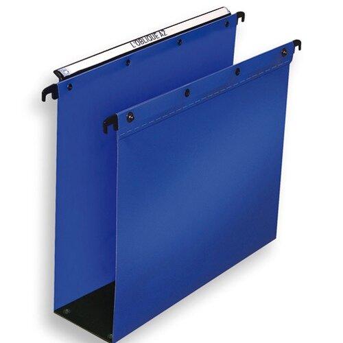 Elba suspension file polypropylene 80mm foolscap blue for Suspension fille