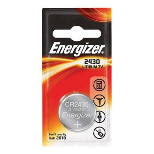 Strålande Energizer CR2430 Button Cell Coin Batteries Lithium Battery Pack 2 ZU-44
