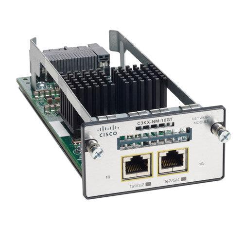 Cisco 10G-T Network Module (Spare) for Cisco Catalyst 3750-X