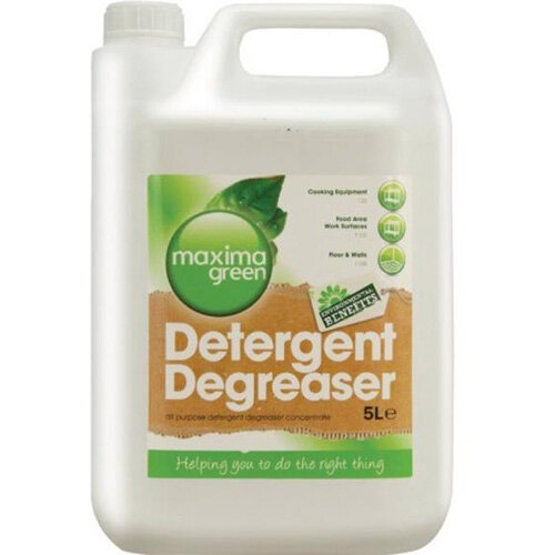 Maxima Green Degreaser Biodegradable Detergent 5L Pack 1