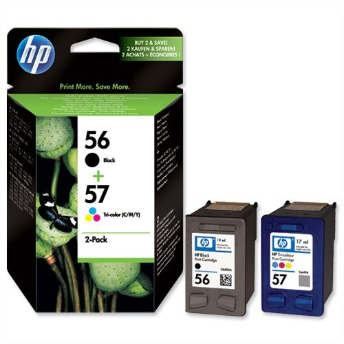 HP 56 Black 57 Colour Ink