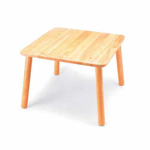 Square Preschool Table 600x600x430mm