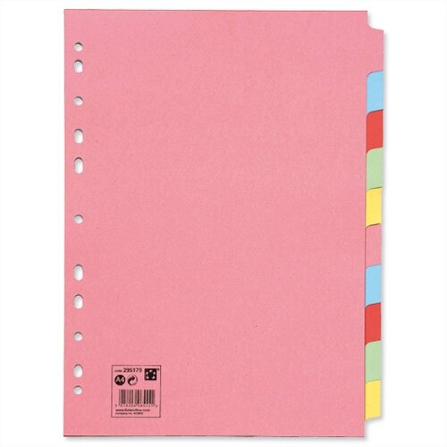 10 Part Subject Dividers