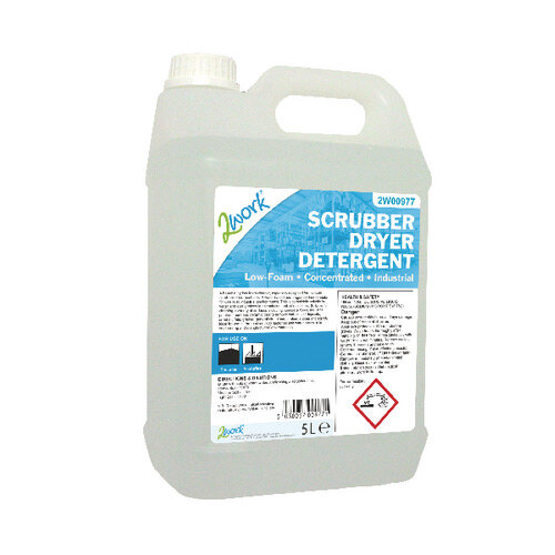 2work Scrubber Dryer Floor Cleaning Detergent Foam 5liters