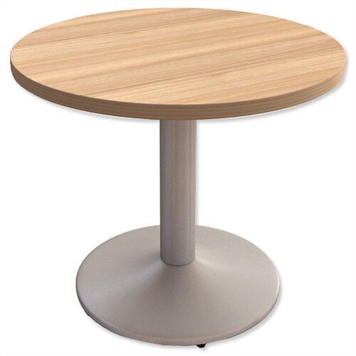 Miraculous Small Round Meeting Table With Trumpet Base Dia800Mmxh725 Interior Design Ideas Truasarkarijobsexamcom