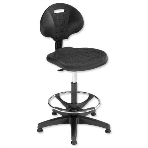 Trexus Lab High Rise Chair  sc 1 st  Hunt Office & Lab High Chair Gas Lift Seat Black Trexus - Huntoffice.ie