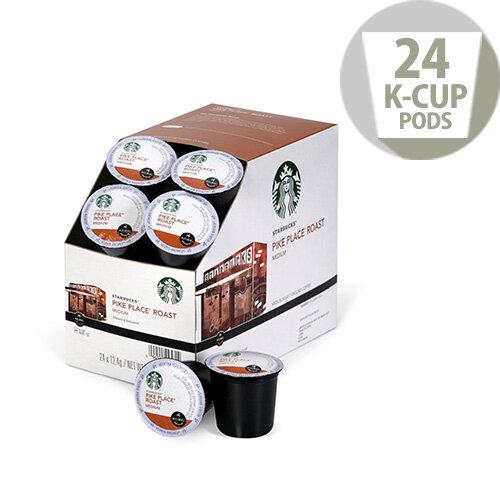 K Cup Coffee Maker Starbucks : Starbucks K-Cup pods for Keurig K140 & K150 Pike Place ...