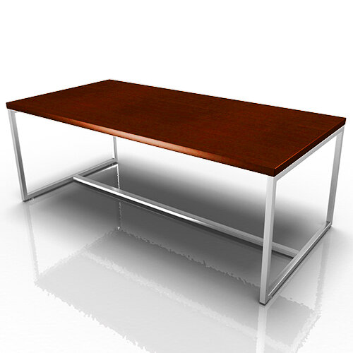 Rectangular Reception Coffee Table Dark Cherry Ireland