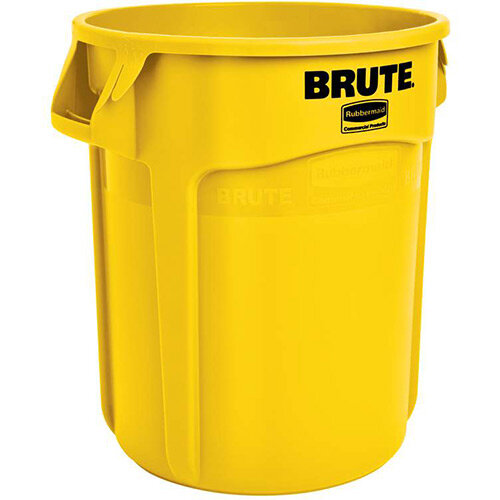 Blue 75.7 Litre Rubbermaid Commercial Products FG262000Blue Brute Round Container