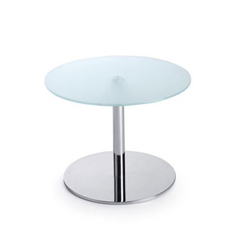 Round Glass Coffee Table D600xH450 Round Base