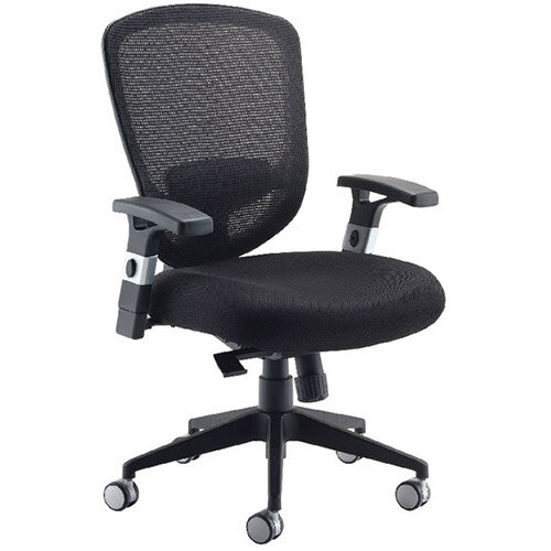 Awe Inspiring Arista Mesh High Back Task Operator Office Chair Black Suitable For Use 8 Hours A Day Height Adjustable Arms Perfect For Office Or Home Office Home Interior And Landscaping Transignezvosmurscom